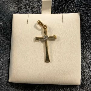 Jewelry - 14K gold filled cross neckless pendant